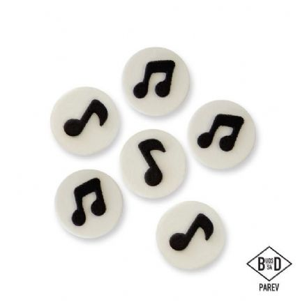 Music Notes Sugar Decorations